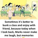 School Time Funny Photo – Funny Cartoon Photo