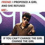 Friend, I proposed a Girl – Hindi Funny Photo
