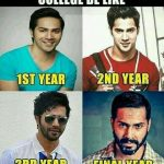 College be like – Funny Photo