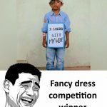 Fancy Dress Competition Funny Photo