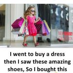Girl's Shopping Funny Pic