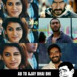 Priya prakash Varrier Funny Photo