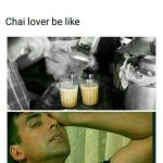 Chai Lover Funny Photo