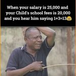 When your Salary– WhatsApp Funny Photo