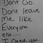 Don't Go quote – Image for Don't Go quote