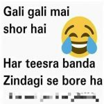 Gali Gali Mai Shor Hai – Funny Photo for WhatsApp