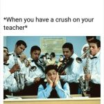 When you have Crush – Funny Crush Photo