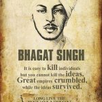 Bhagat Singh Long Live The Revolutions
